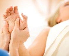 Проведение процедуры массажа