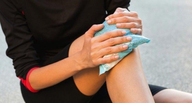 Ушиб колена и его лечение в домашних условиях
