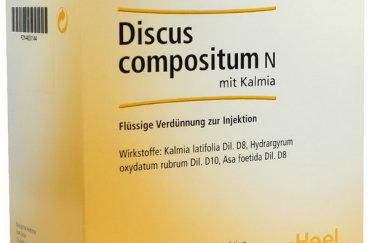 Как принимать Дискус композитум в уколах и таблетках?