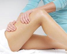 Лечебный массаж сустава