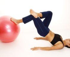 Физические упражнения с мячом