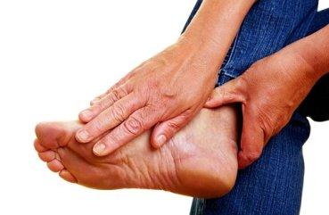 снять приступ подагры на ноге