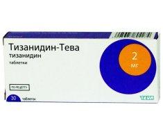 Медкамент Тизанидин-Тева