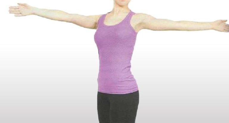 Выполняем упражнения для укрепления плечевого сустава