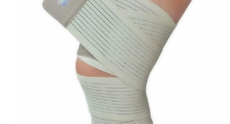 Техники наложения эластичного бинта на колено