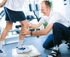 Выполнение лечебной физкультуры