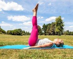 Лечебные упражнения на свежем воздухе