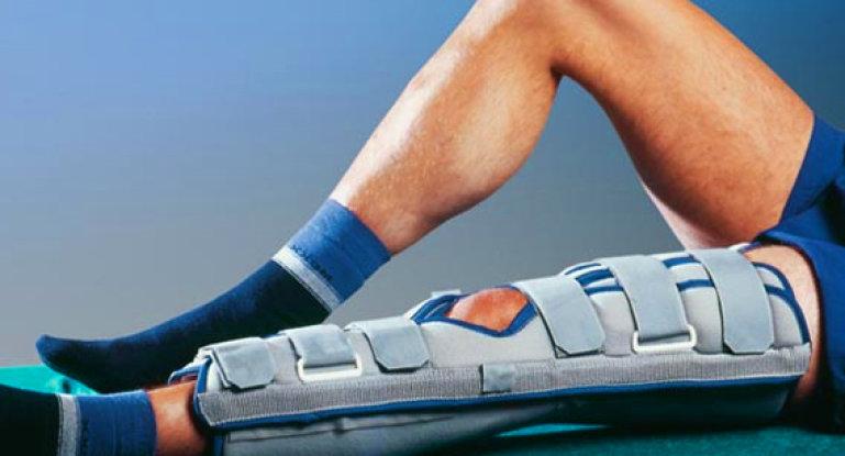 Правильно разрабатываем коленный сустав после перелома