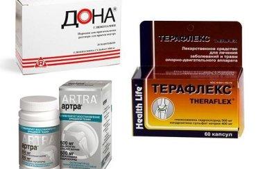 В каких препаратах присутствует хондроитин с глюкозамином для…
