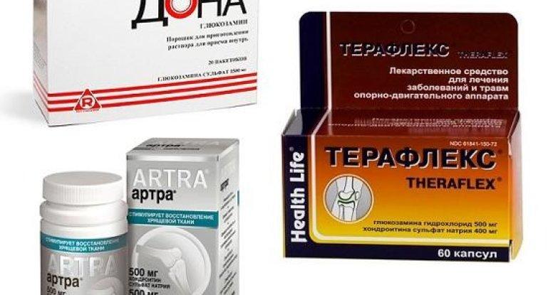 В каких препаратах присутствует хондроитин с глюкозамином для суставов?