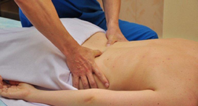 Массаж при остеохондрозе поясничного отдела