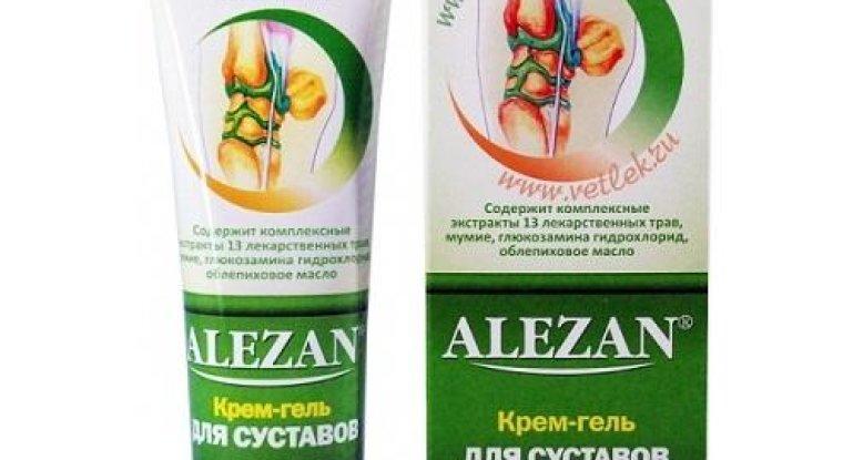 Применение и свойства «Алезан-крем» для суставов