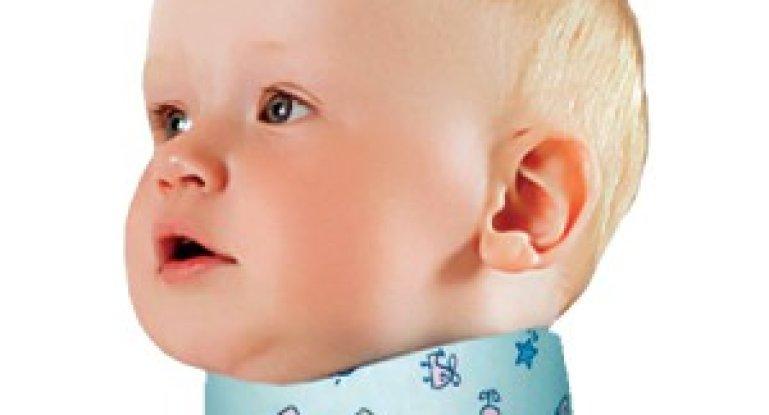 Зачем нужен воротник Шанца для новорожденных?