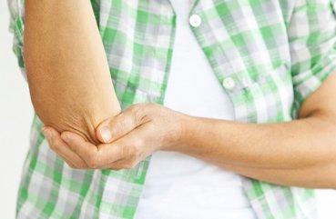 Біль в ліктьовому суглобі правої руки