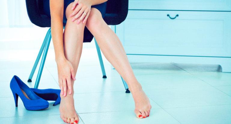 Как быстро и эффективно снять боль в ногах?