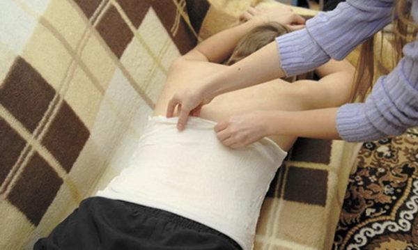 Лечение спины компрессами