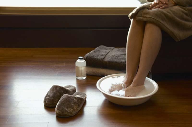 Проведение лечебных ванночек