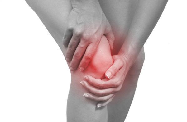Локализация боли при подагре