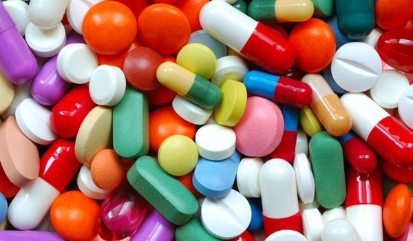 Различные таблетки для лечения