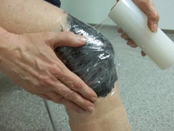 Грязевые обертывания колена в домашних условиях
