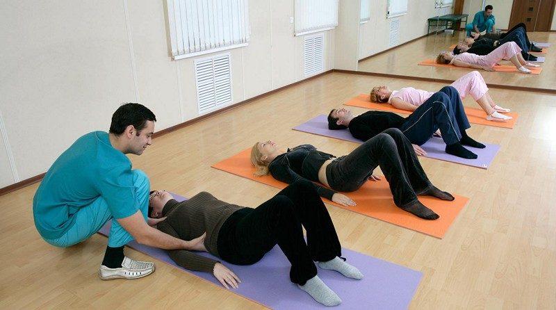 Лечебная гимнастика со специалистом