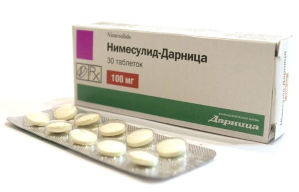 Препарат Нимесулид-Дарница