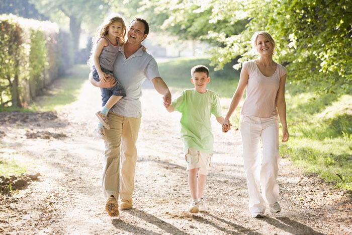 Пешая прогулка - средство профилактики