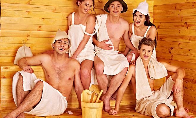 Прогревание в бане