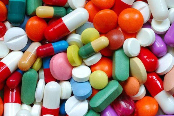 Разные обезболивающие таблетки