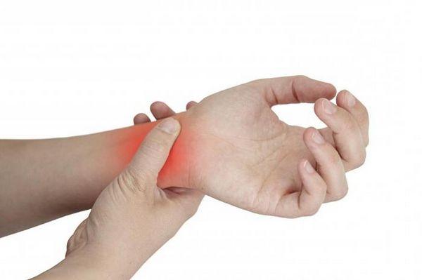 Локализация боли в руке