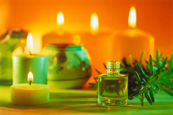 Ароматические свечи с маслами