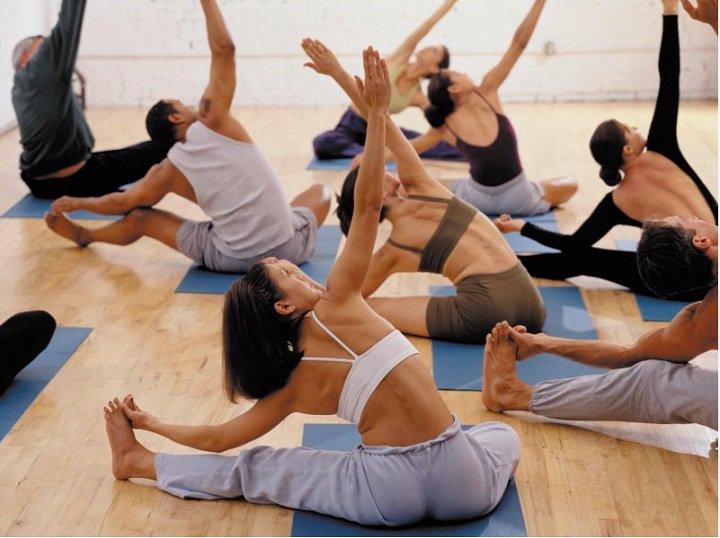Групповые гимнастические упражнения