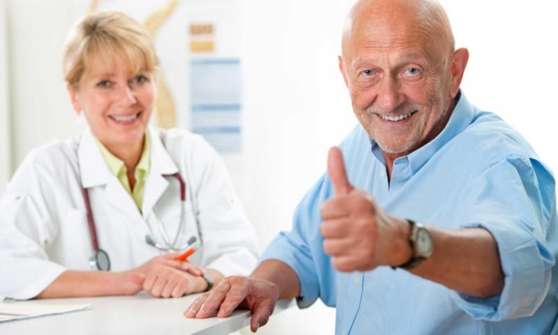 Довольный пациент