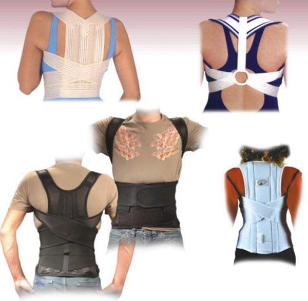 Виды корректоров для спины