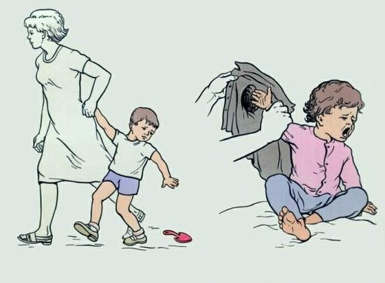 Иллюстрация возможной причины травмирования