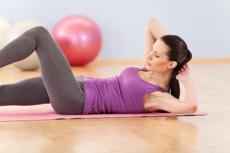 Выполнение лечебной гимнастики
