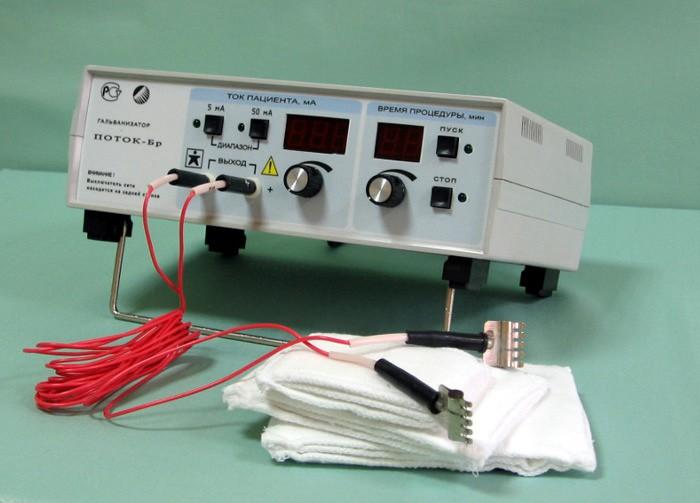 Аппарат для проведения электрофореза