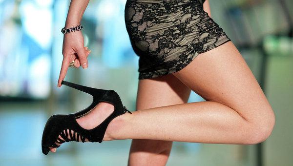 Высокие каблуки как причина травмирования