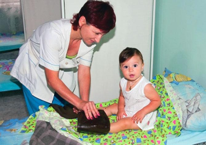 Озокеритовые сапожки для детей
